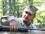 PHOTO: This undated image provided by the U.S. Marine Corps shows Sgt. Eusebio Lopez, an Officer Candidate School instructor, during the Quantico Leadership Venture at OCS on Sept. 21, 2012; Lopez, gunned down Lance Cpl. Sara Castromata and Cpl. Jacob Woo