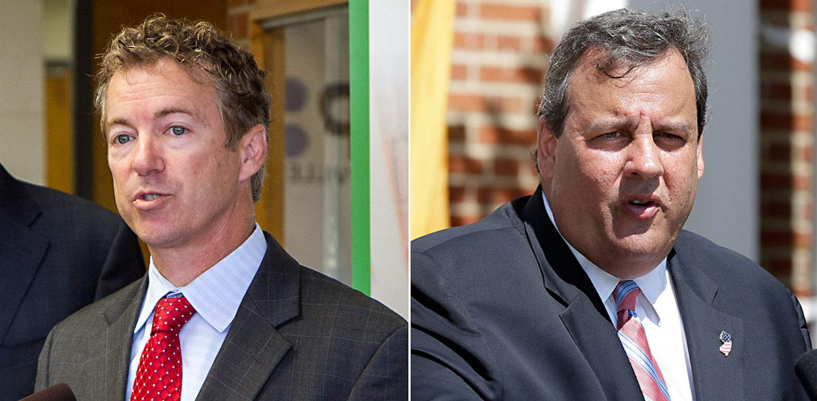 PHOTO: Rand Paul and Chris Christie