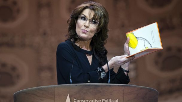 ap sarah palin ds 140308 16x9 608 In CPAC Speech, Sarah Palin Channels Dr. Seuss to Knock Obama