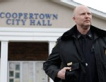 PHOTO: Police Chief Shane Sullivan is seen at the Coopertown City Hall, Feb. 13, 2013.