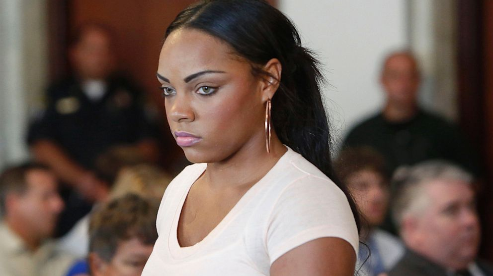 PHOTO: Shayanna Jenkins, fiancee of former New England Patriots NFL football player Aaron Hernandez,