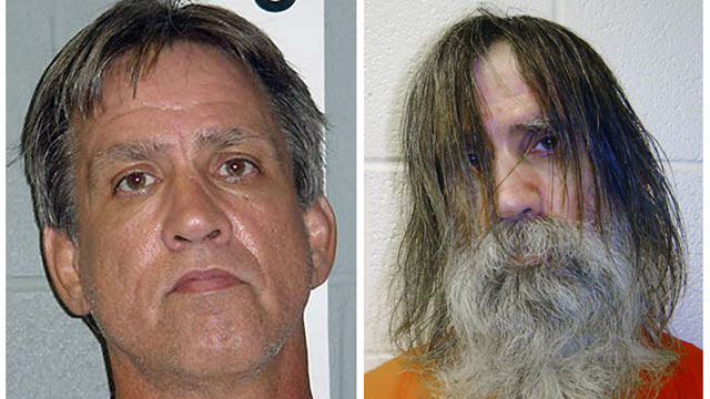 PHOTO: Stephen Slevin, left, in Aug. 2005, at the time of his arrest for drunken driving, and right, in May 2007, shortly before being released from solitary confinement.