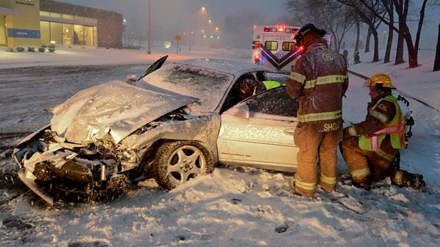 PHOTO: Car accident