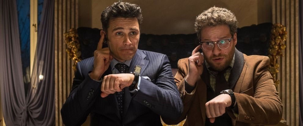 "PHOTO: James Franco and Seth Rogen in ""The Interview."""