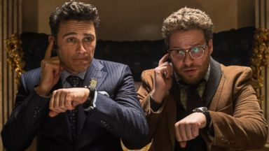 PHOTO: James Franco and Seth Rogen in The Interview.