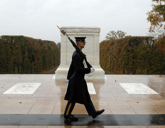 Through The Years at The Tomb of the Unknown Soldier