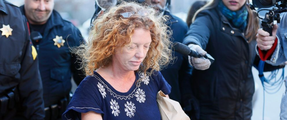 "PHOTO: Tonya Couch, the mother of a Texas teen who used an ""affluenza"" defense in a drunken wreck, leaves Tarrant County Jail, Jan. 12, 2016, in Fort Worth, Texas."