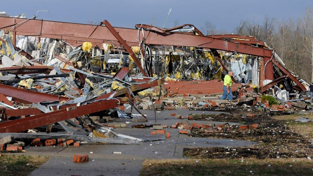 Storms Demolish Small Towns In Ind., Ky.; 37 Dead