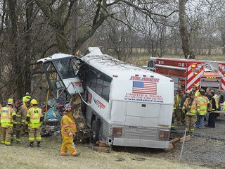 Tour Bus Crashes in Pa.; Serious Injuries Reported