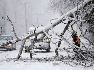 Storm Hits Mid-Atlantic