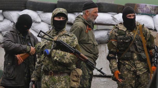 ap ukraine russia kb 140501 16x9 608 US Troops Head to Latvia as Russia Progresses Against Helpless Ukraine