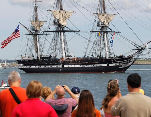 Vessel Commemorates 200th Anniversary Since 1812 Victory