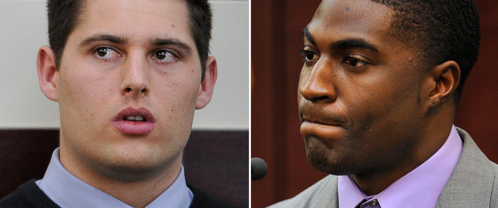 PHOTO: Brandon Vandenburg is seen in court on Jan. 27, 2015 and Cory Batey testifies on Jan. 26, 2015.