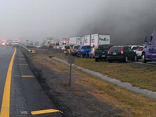 75-Car Pile-Up Kills at Least 3