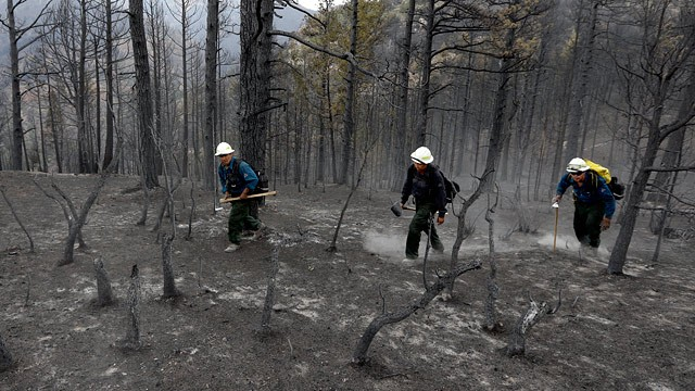 NATIONAL GUARD HELPS PATROL COLORADO FIRE DAMAGE - ABC News