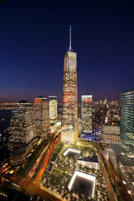 World Trade Center Becomes Tallest Building in NYC