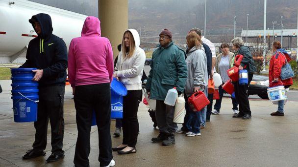 ap wv water line kb 140113 16x9 608 West Virginia Sen. Rockefeller Wont OK Charleston Water a Month After Spill