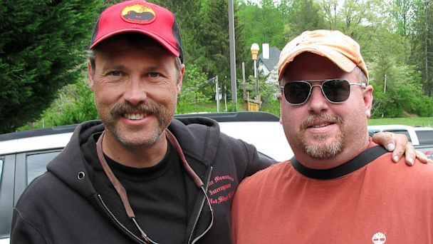 PHOTO: This 2012 photo provided by Scott Marsh shows Eric Marsh, left, superintendent of the Granite Mountain Hotshots, during a visit with his cousin Scott Marsh in North Carolina. Eric was one of the 19 Granite Mountain Hotshot Crew, who was killed on J