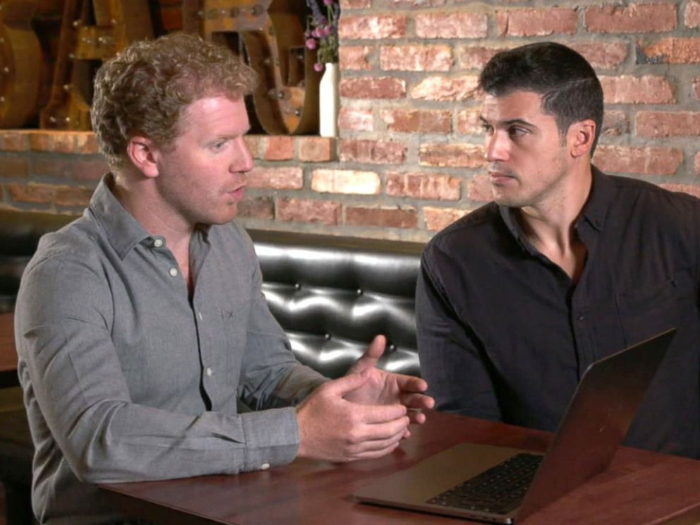 PHOTO: ABC News Gio Benitez and cybersecurity expert James Lyne set up a demonstration to show how vulnerable people may be when downloading fake apps.