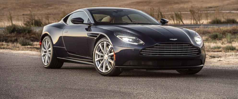 PHOTO: Every Aston Martin gets seven coats of paint. The whole process is nearly 50 hours (more for a bespoke paint job).