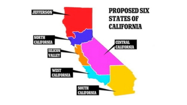VIDEO: Venture capitalist Tim Draper is proposing to split up the Golden state.