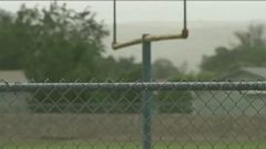 VIDEO: Lightning struck a tree near football field, injuring students and coaches.