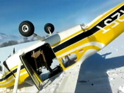 Utah Family Survives Plane Crash: Caught On Tape