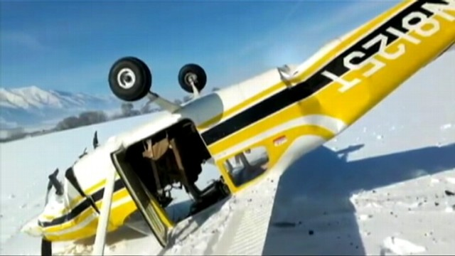 Video: Utah Family Survives Plane Crash: Caught On Tape