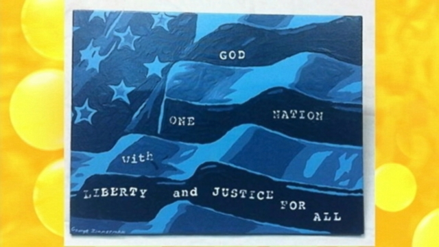VIDEO: A painting by George Zimmerman is being auctioned on eBay.
