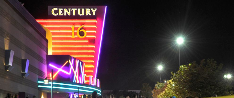 PHOTO: Aurora Police responded to the Century 16 movie theatre, July 20, 2012.