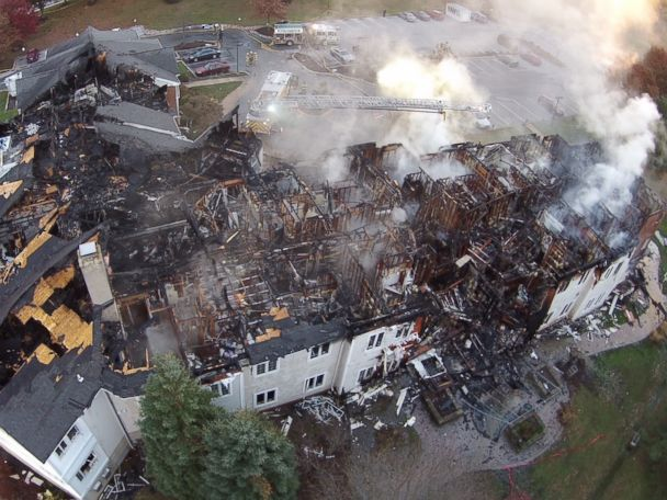 Remains of 2 victims found after fire at Pa. nursing home