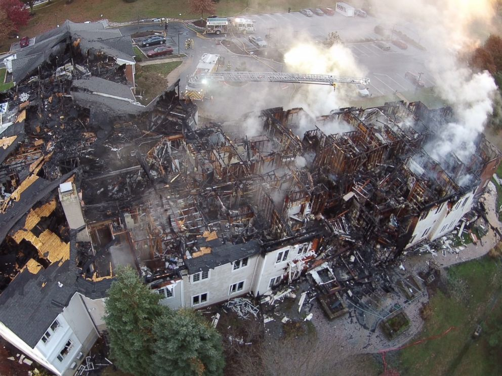 PHOTO: Barclay Friends Senior Living Community in West Chester, Pa., is pictured in this aerial image, Nov. 17, 2017.