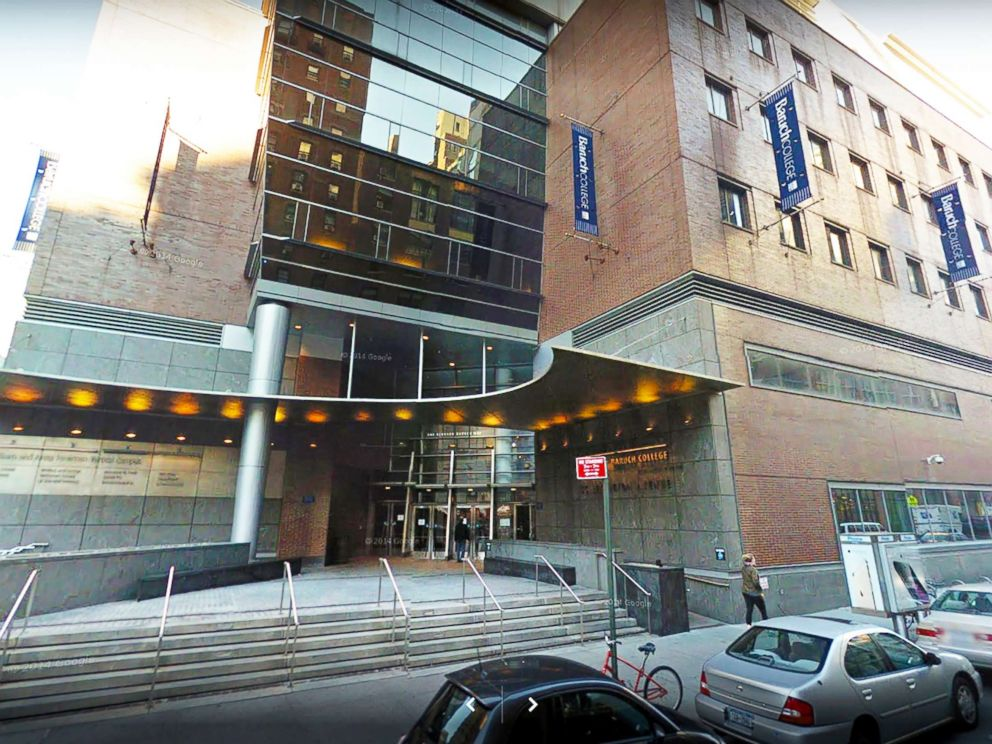 PHOTO: Baruch College Campus in New York City is seen in this image from Google.