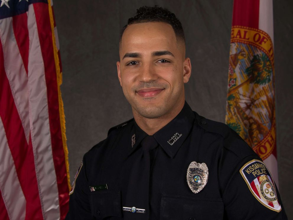 PHOTO: Officer Matthew Baxter, a three-year veteran of the Kissimmee Police Department, died from his wound after he was shot on Friday August 19, 2017.