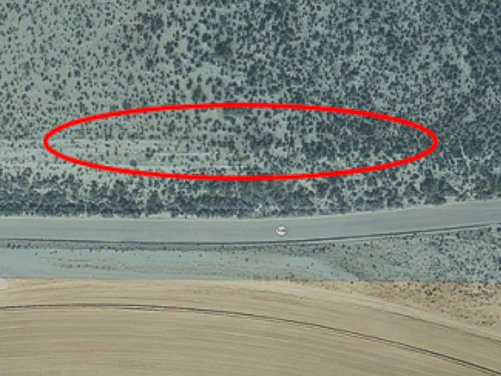 PHOTO: Google Earth before-and-after images captured on Jan. 29, 2012 metamorphose into a barren cavity by March 16, 2014.