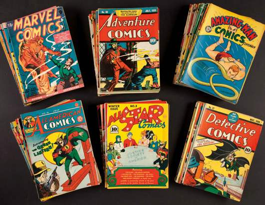 Valuable Comic Collection to be Auctioned