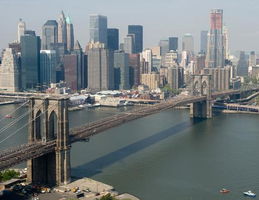 A look at the Brooklyn Bridge
