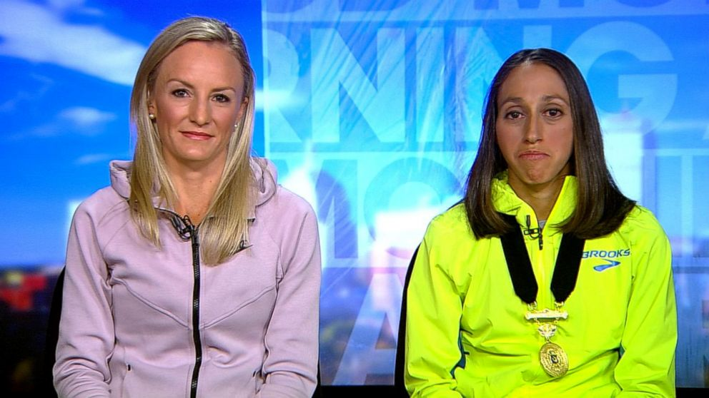 Boston  Marathon  winner on slowing down for teammate: 'There was a ton of American pride on the line'