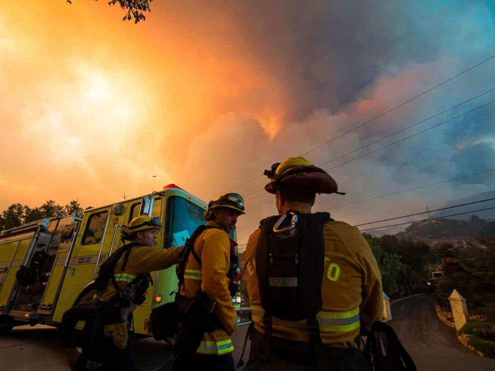Thomas Fire grows to 269000 acres; 18000 structures remain threatened