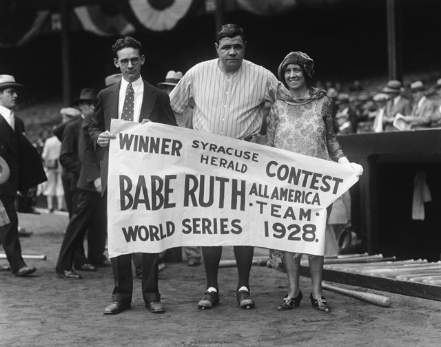 cb babe ruth 12 contest kb 130710 blog Babe Ruth Back in the Day
