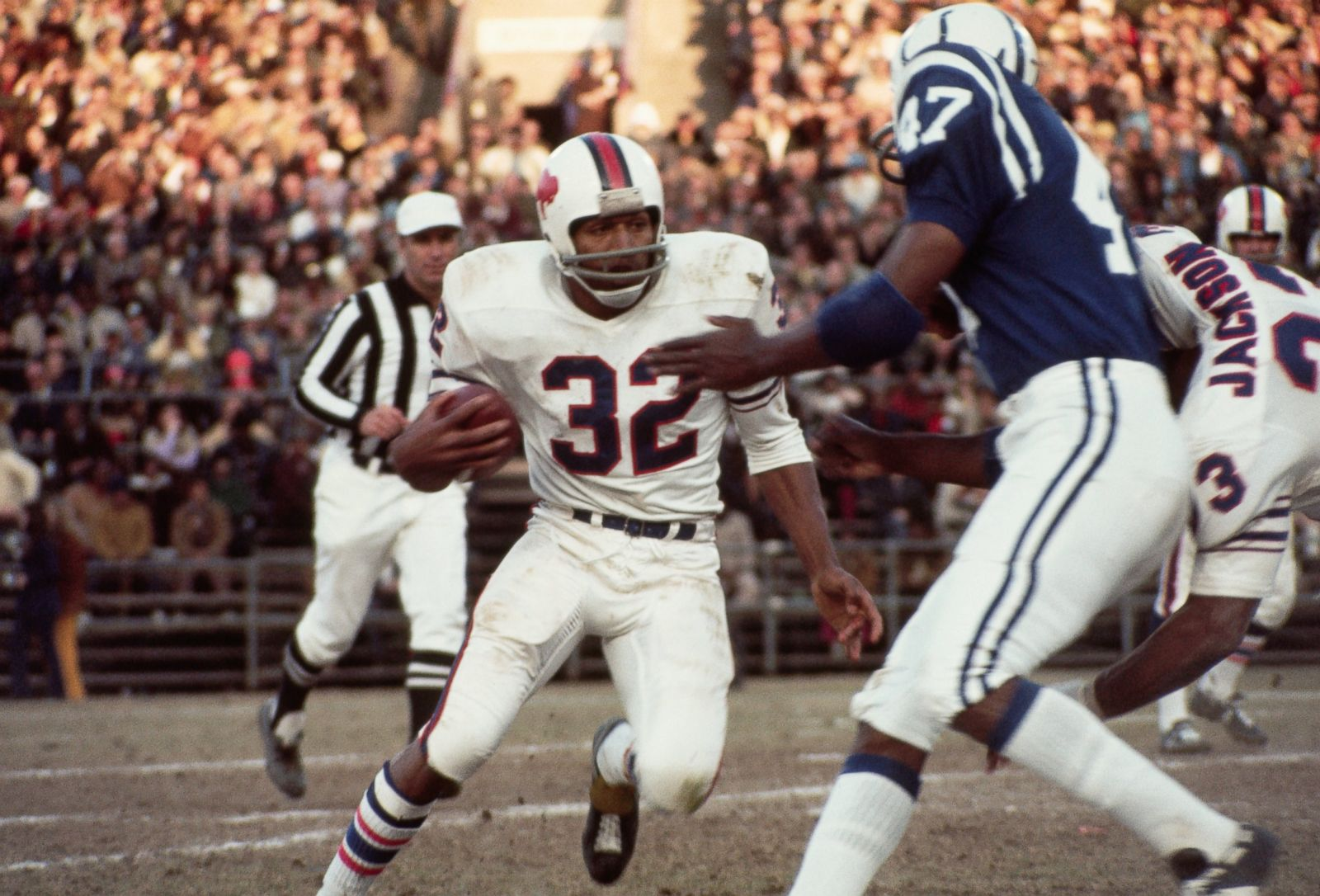 1971 Topps #260 O.J. Simpson Football Card Buffalo Bills