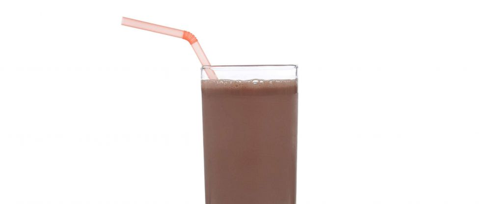PHOTO: A glass of chocolate milk in an undated stock photo.