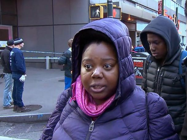 Witness of explosion at major NYC transit hub: 'I believe in God today!'