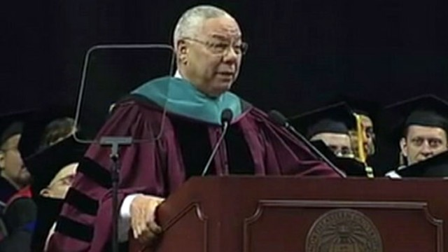 VIDEO: The former secretary of state spoke to graduates on May 4, 2012.