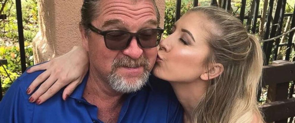PHOTO: Tom Day Jr. is pictured with his daughter Kelsey-Lee Day, one of the people killed in Las Vegas after a gunman opened fire, Oct. 1, 2017, at a country music festival.