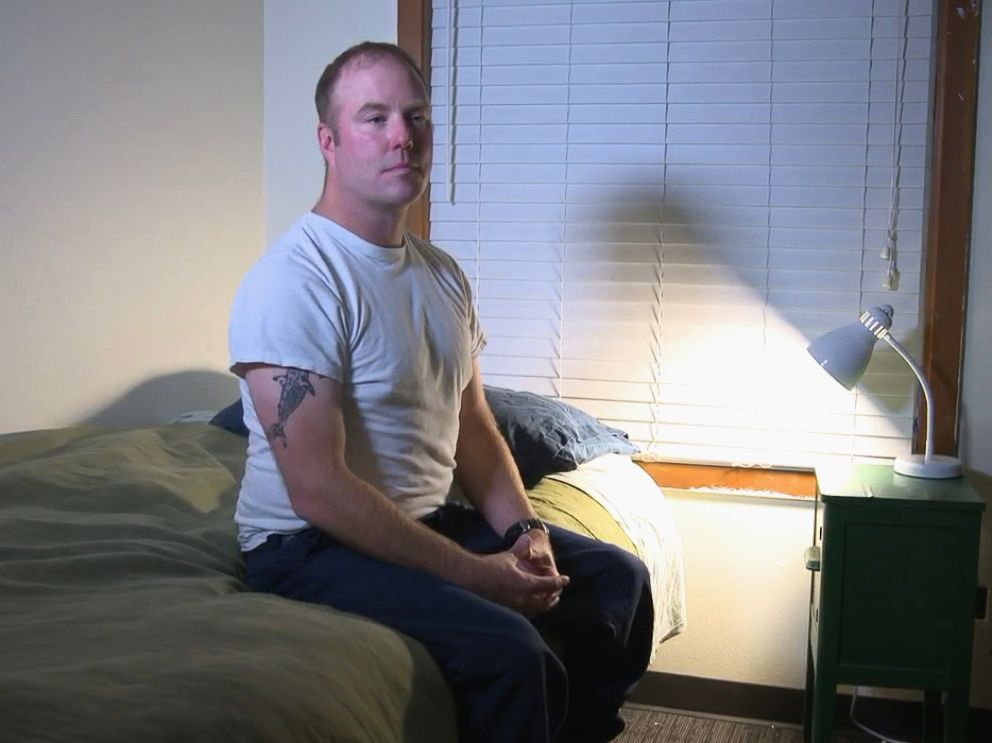 PHOTO: Dean McAuley says he still struggles with sleeping after the shooting in Las Vegas.