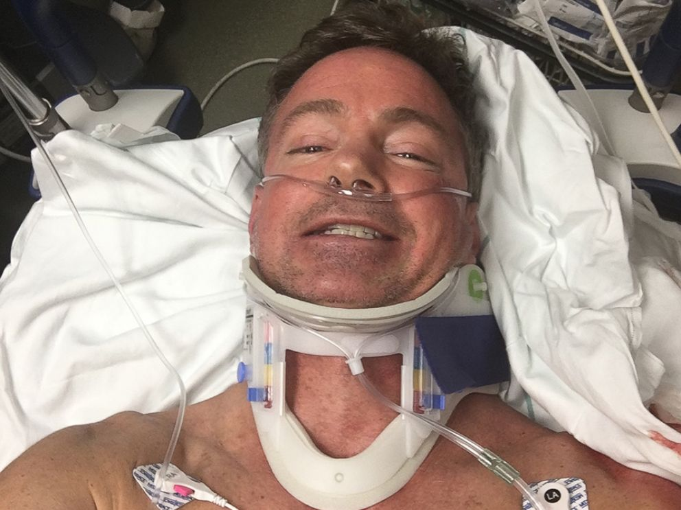 PHOTO: Dean Otto had run in several marathons before he was struck by a truck in September 2016 and paralyzed.