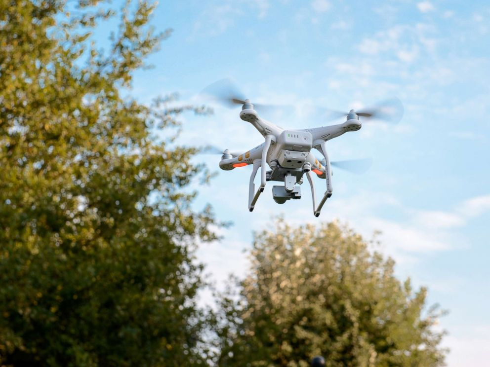 PHOTO: Drones similar to this stock image, are being used by family and friends to canvass the Foothill Ranch area of Lake Forest, where authorities believe Blaze Bernstein was last seen by a friend in Borrego Park.