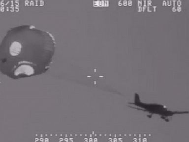 Watch:  Pilot Pulls Parachute in Dramatic Plane Escape