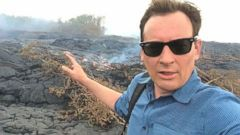 VIDEO: ABCs Clayton Sandell tours the lava flow threatening homes and a town on Hawaiis Big Island.